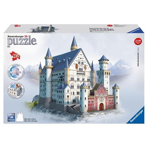 Ravensburger Neuschwanstein Castle 3D Puzzle 216pc - image 1 of 3