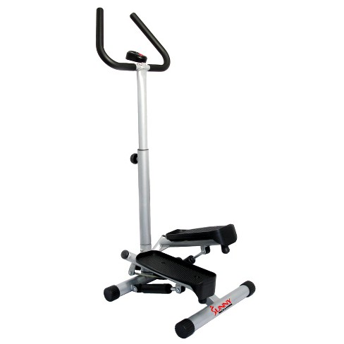 Sunny Health and Fitness (NO. 059) Dual Action Swivel Stepper with Handlbars - image 1 of 4