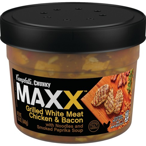 Campbell\'s® Chunky Soup Maxx Grilled Chicken - 15.5oz : Target