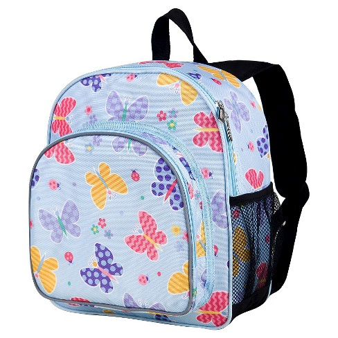 Wildkin Olive Butterfly Garden Pack 'n Snack Kids' Backpack - image 1 of 1