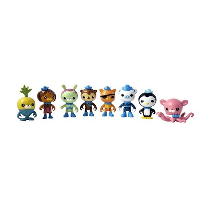 Fisher-Price Octonauts Octo-Crew 3 Inch Mini Figure Set | 8 Figures