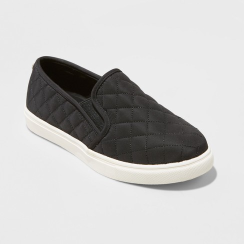 Women's Reese Wide Width Nylon Slip On Sneakers - Mossimo Supply Co.™ - image 1 of 3