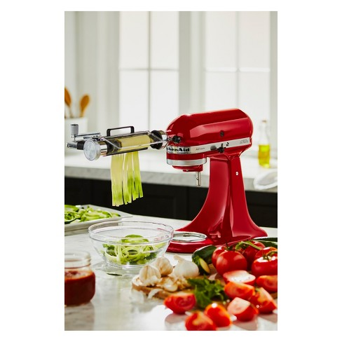Kitchenaid Vegetable Sheet Cutter Attachment With Noodle Blade