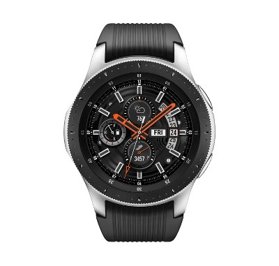 Samsung Galaxy Smartwatch 46mm - Silver with Black Band