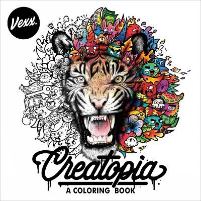 Creatopia - by Vexx (Paperback)