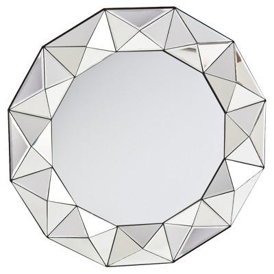 Trester Decorative Mirror - Mirrored - Aiden Lane