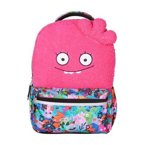"UglyDolls 16"" Halfway Gorgeous Kids' Backpack - Pink - image 1 of 4"