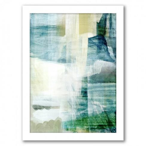 Americanflat Rain Collage I By Hope Bainbridge White Frame Wall Art Target