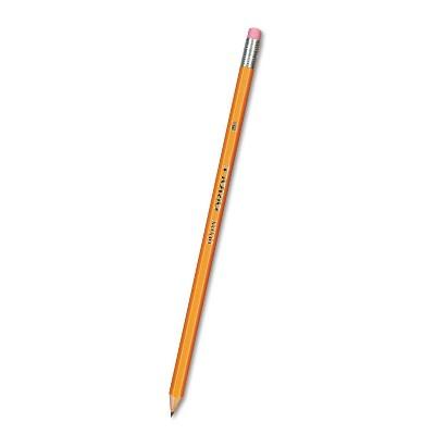 Dixon Oriole Woodcase Pencil, HB #2 - Yellow Barrel (72 Per Pack)