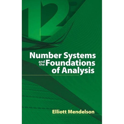 Number Systems and the Foundations of Analysis - (Dover Books on Mathematics) (Paperback) - image 1 of 1