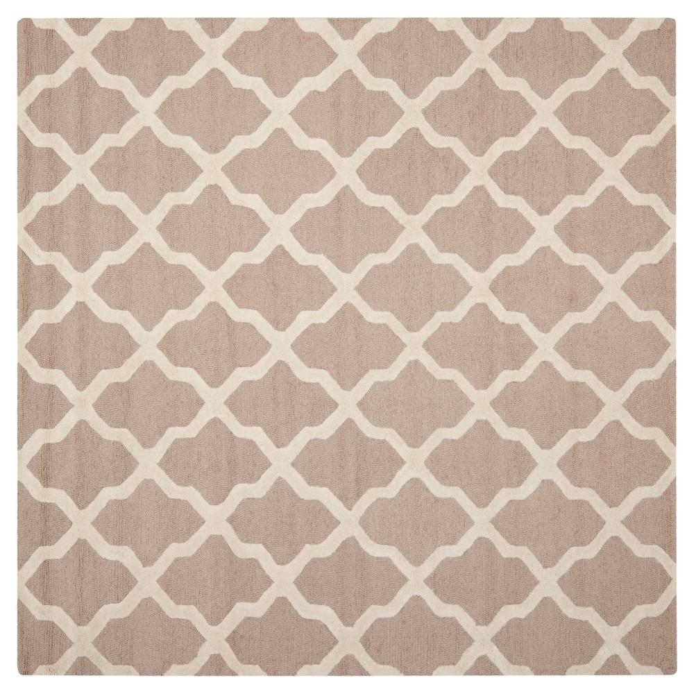 Maison Textured Rug - Beige / Ivory (6'X6') - Safavieh, Beige/Ivory