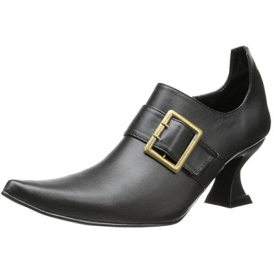 Hazel Witch Costume Shoe Black