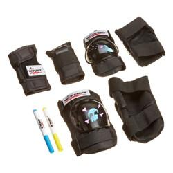 Wipeout Dry Erase 3-Pack Pad Set - Black