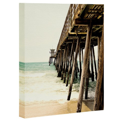 Bree Madden  Down By The Pier Art Canvas - image 1 of 1