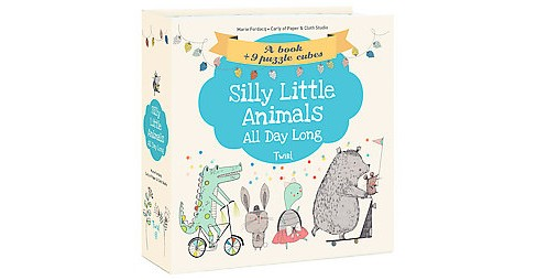 Silly Little Animals All Day Long (Hardcover) (Marie Fordacq) - image 1 of 1