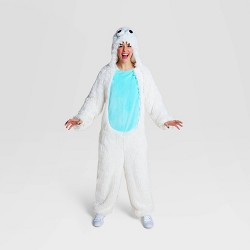 Adult Plush Yeti Halloween Costume Jumpsuit - Hyde & EEK! Boutique™