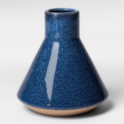 Stoneware Vase Short - Blue - Project 62™
