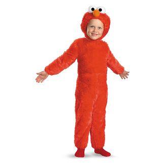 Toddler Sesame Street Elmo Comfy Faux Fur Halloween Costume 2T