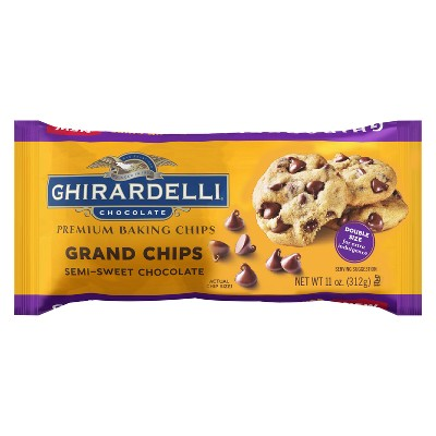 Baking Chips & Chocolate: Ghirardelli Grand Semi-Sweet Chocolate Baking Chips