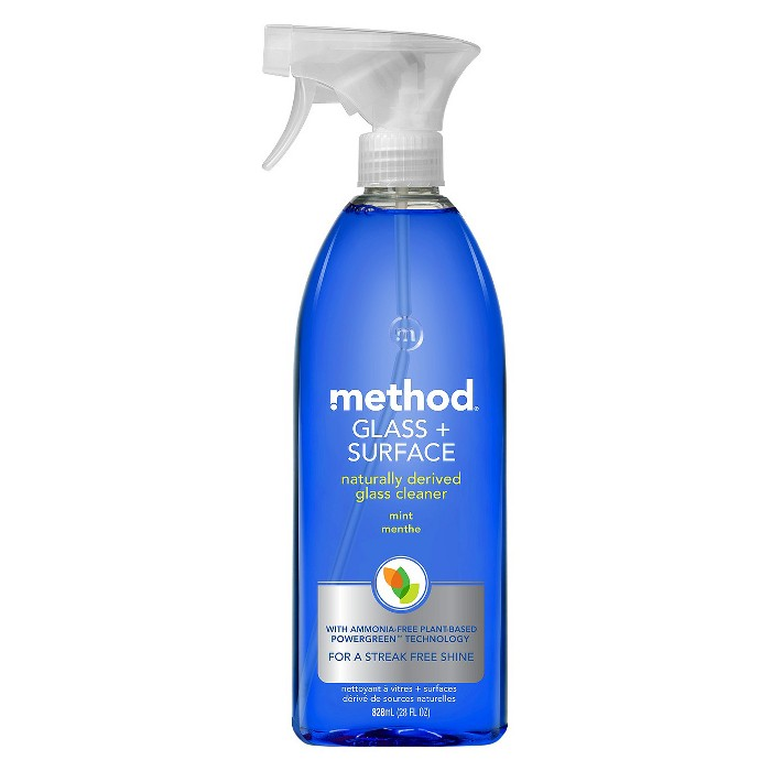 Method Cleaning Products Glass + Surface Cleaner Mint Spray Bottle 28 fl oz - image 1 of 3