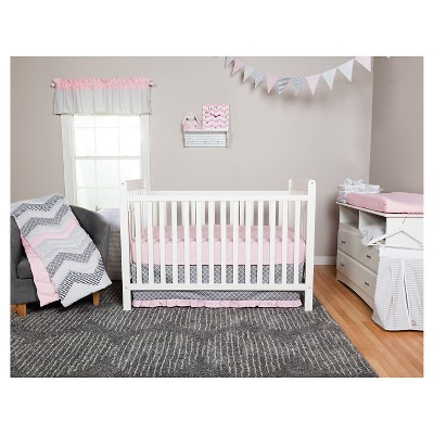 Trend Lab 3pc Crib Bedding Set – Cotton Candy