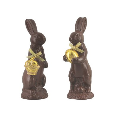 Gallerie II Chocolate Easter Rabbit Figure Tall A/2
