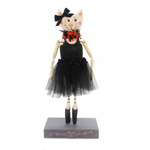 """Halloween 12.0"""" Cat Ballerina Tu Tu Kitten Jointed Arms - image 1 of 2"""