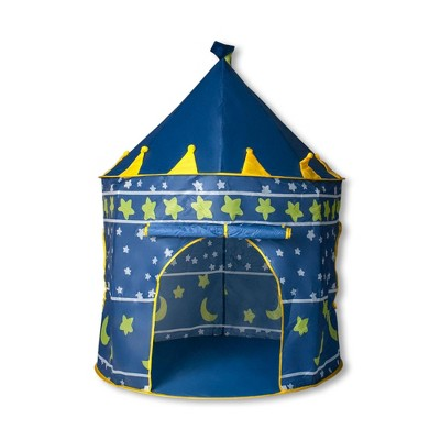 Ningbo Zhongrui Import And Export Co Blue Fantasy Castle Play Tent | 54 x 41 Inches