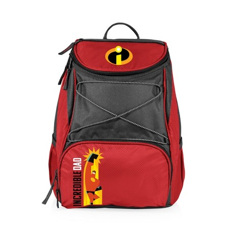 9b90aa241 Picnic Time Mr. Incredible Backpack Cooler - Red   Target