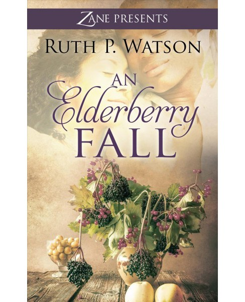 Elderberry Fall -  Large Print by Ruth P. Watson (Hardcover) - image 1 of 1