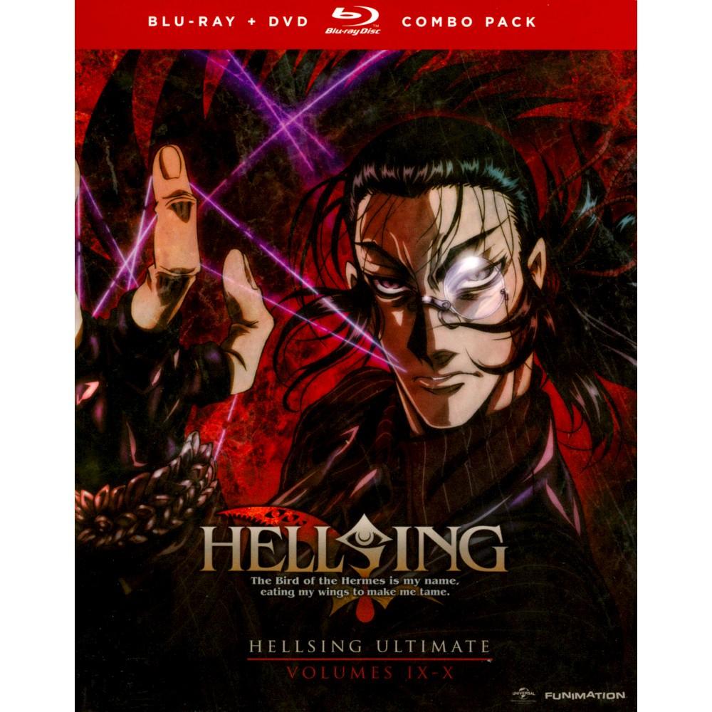 Hellsing Ultimate:Vols 9 & 10 (Bd/Dvd (Blu-ray)