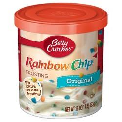 Betty Crocker Rainbow Chip Frosting - 16oz