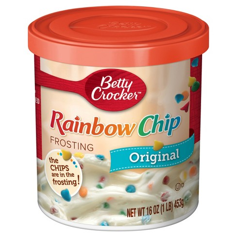 Betty Crocker Rainbow Chip Frosting - 16oz - image 1 of 4