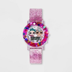 Girls' L.O.L. Surprise! Flashing LCD Watch - Gradient