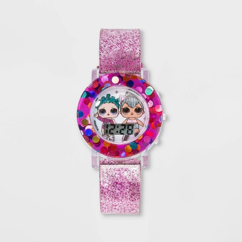 Girls' L.O.L. Surprise! Flashing LCD Watch - Gradient - image 1 of 3