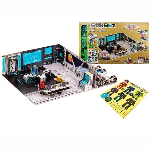 Stikbot Space Movie Studio Kit For Kids - Hog Wild Toys - image 1 of 2