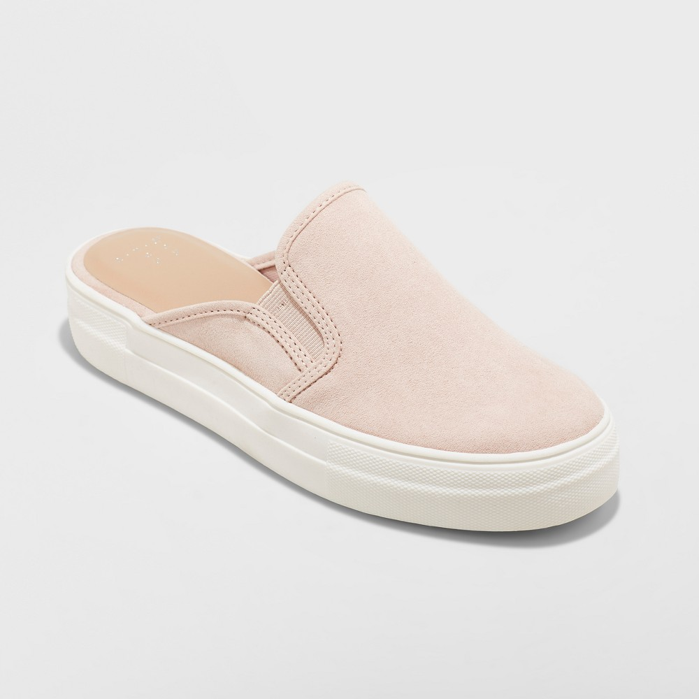 Women's Kylena Backless Sneakers Mule - A New Day Blush 7.5, Pink