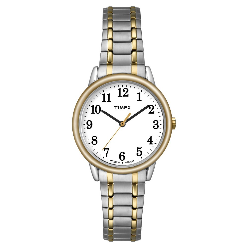Women's Timex Easy Reader Expansion Band Watch - Two Tone TW2P78700JT, Gold