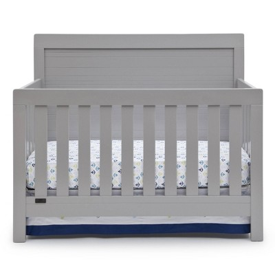 Simmons Kids' SlumberTime Rowen 4-in-1 Convertible Baby Crib - Gray