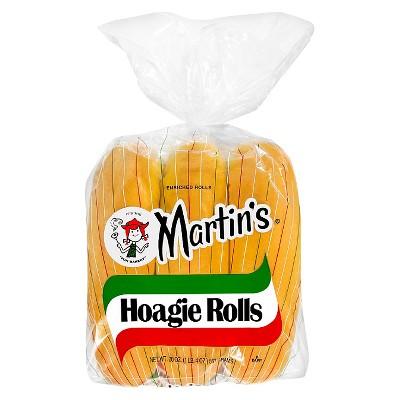 Martin's Plain Hoagie Rolls - 20oz/6ct