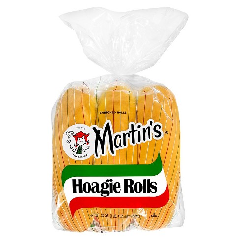 Martin's Plain Hoagie Rolls - 20oz/6ct - image 1 of 1