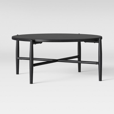 Beau Casson Metal Top Patio Coffee Table   Black   Project 62™
