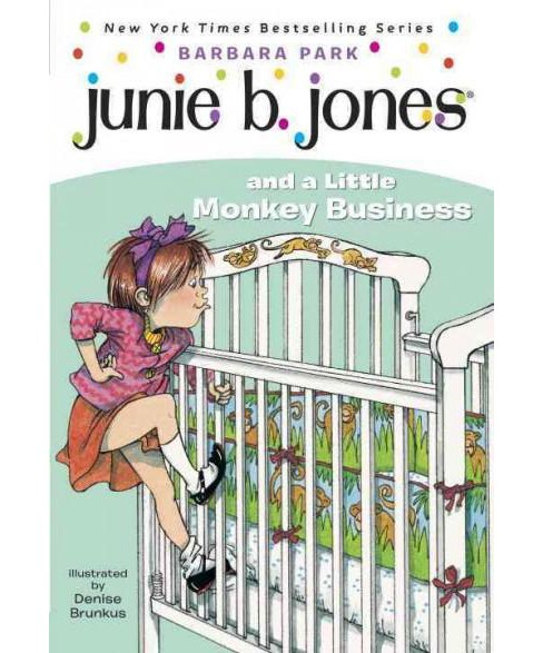Junie B. Jones and a Little Monkey Busin ( Junie B. Jones) (Paperback) by Barbara Park - image 1 of 1