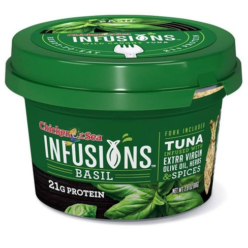Chicken of the Sea Infusions Basil Tuna - 2.8oz - image 1 of 4