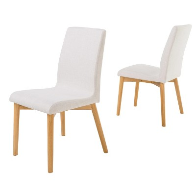 Set of 2 Helen Dining Chair Light Beige - Christopher Knight Home