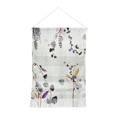Iveta Abolina Woodland Dream Wall Hanging Portrait Gray - Deny Designs