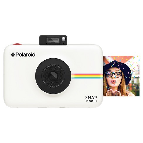 polaroid snap touch digital instant camera white polstw target