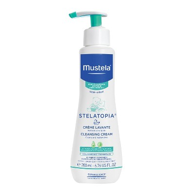 Mustela Stelatopia Cream Cleanser - 6.7 oz.