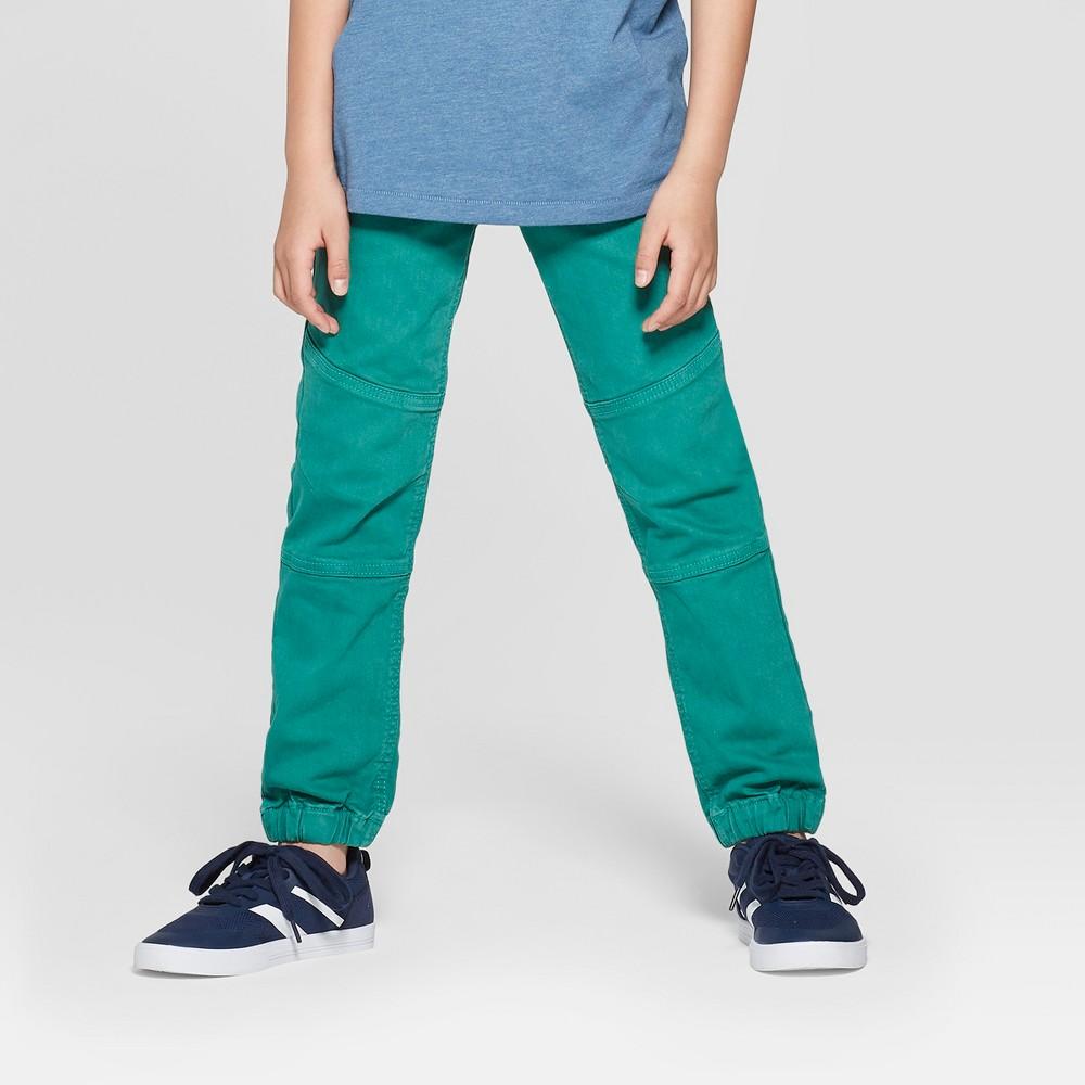 Boys' Skinny Jeans - Cat & Jack Green 10 Husky
