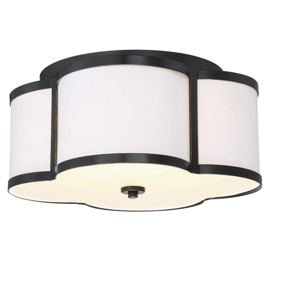 Image of Ceiling Lights Semi-Flush Mount Classic Bronze - Aurora Lighting